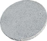 Granitplatte Hellgrau Rund Bhg Home